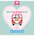 Romantic card26 vector image vector image