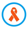 Solidarity Ribbon Rounded Icon vector image vector image