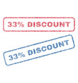 33 percent discount textile stamps vector image vector image
