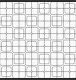 abstract seamless pattern of squares with rounded vector image vector image