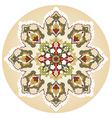 Antique ottoman turkish pattern design twenty nine vector image vector image