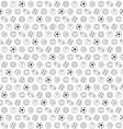 Balls seamless pattern vector image vector image