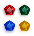 Colorful gemstones collection - eps10