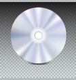 dvd or cd disc blue-ray technology 3d vector image