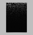 Geometrical pattern brochure template - mosaic