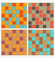 Geometrical Square Pattern vector image