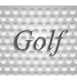 golf icons sports and games vector image vector image