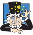 Magician logo vector image vector image