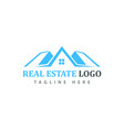 Real estate logotype template construction logo