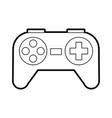 video game control icon vector image vector image