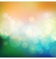 Abstract holiday light background with bokeh vector image vector image