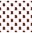 chocolate bar pattern vector image vector image