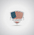 fourth july independence day usa badges logos vector image