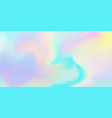 holographic iridescent background rainbow vector image