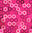 pink cell grunge seamless vector image vector image
