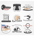 Real estate agency set Buy Sell and Consultancy vector image vector image