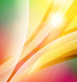Abstract colorful background Summer background vector image vector image