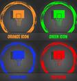 Basketball backboard icon Fashionable modern style vector image vector image