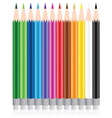 color pencil vector image vector image