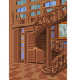 Library in Princess Palace vector image vector image