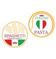 Pasta vector image
