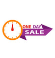 sale countdown badges last minute offer banner vector image vector image