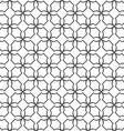 Geometric simple seamless pattern in oriental vector image
