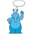 aardvark thinking vector image vector image