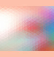 abstract background consist of triangles vector image vector image