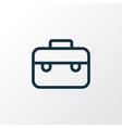 case icon line symbol premium quality isolated vector image