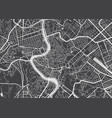 detailed map rome vector image vector image