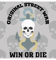 die or win vector image vector image