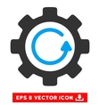 Gear Rotation Direction Eps Icon vector image vector image