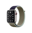 image a smart watch on a white background vector image vector image