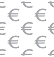 New Euro seamless pattern vector image vector image
