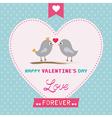 Romantic card31 vector image vector image