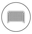 soccer gate football gate handball gate concept vector image