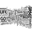 who am i if i let go of my pain text word cloud vector image vector image
