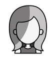 young woman female avatar vector image