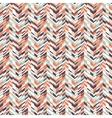 Abstract techno chevron pattern vector image vector image