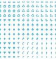 Big seamless pattern set vector image vector image