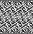 design seamless monochrome waving pattern vector image vector image