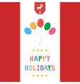 Happy holidays12 vector image vector image