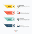 infographic element and icons symbol on white vector image vector image