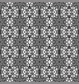 ornamental seamless line pattern vector image