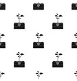 plants single icon in black styleplants vector image