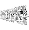 Who among the famous musicians has deafness