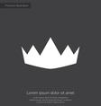 crown premium icon vector image