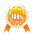 Badge of Premium Quality vector image vector image