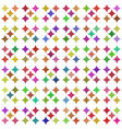 colorful seamless pattern over white vector image vector image